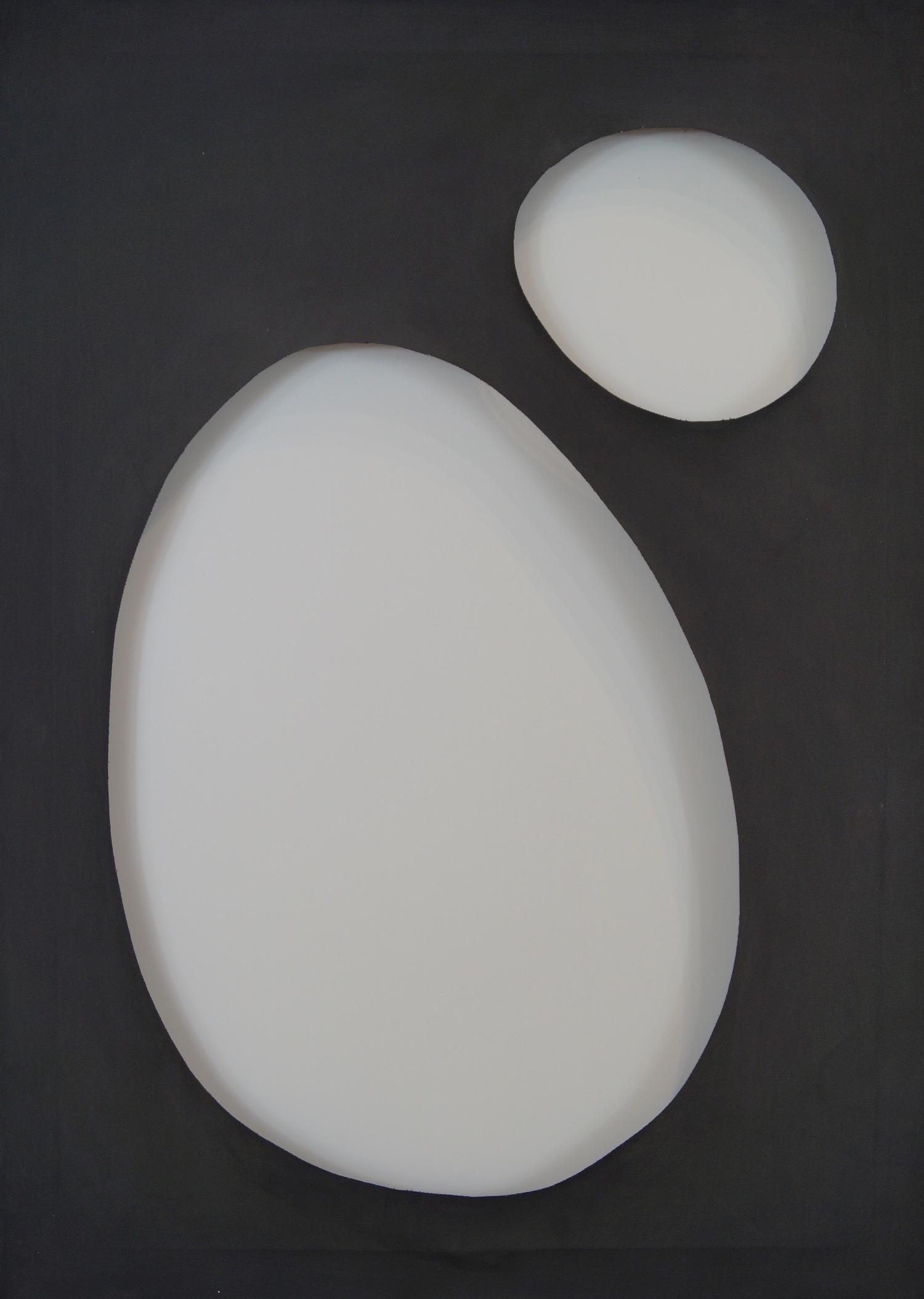 Dadamaino   Volume, 1960   Tempera on canvas   70 x 50 cm