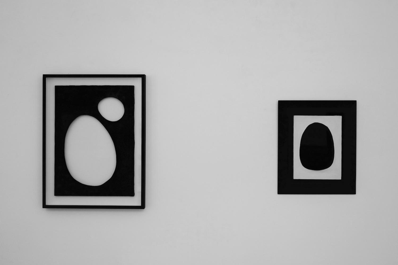 Installation view: Dadamaino, 1960 & 1959