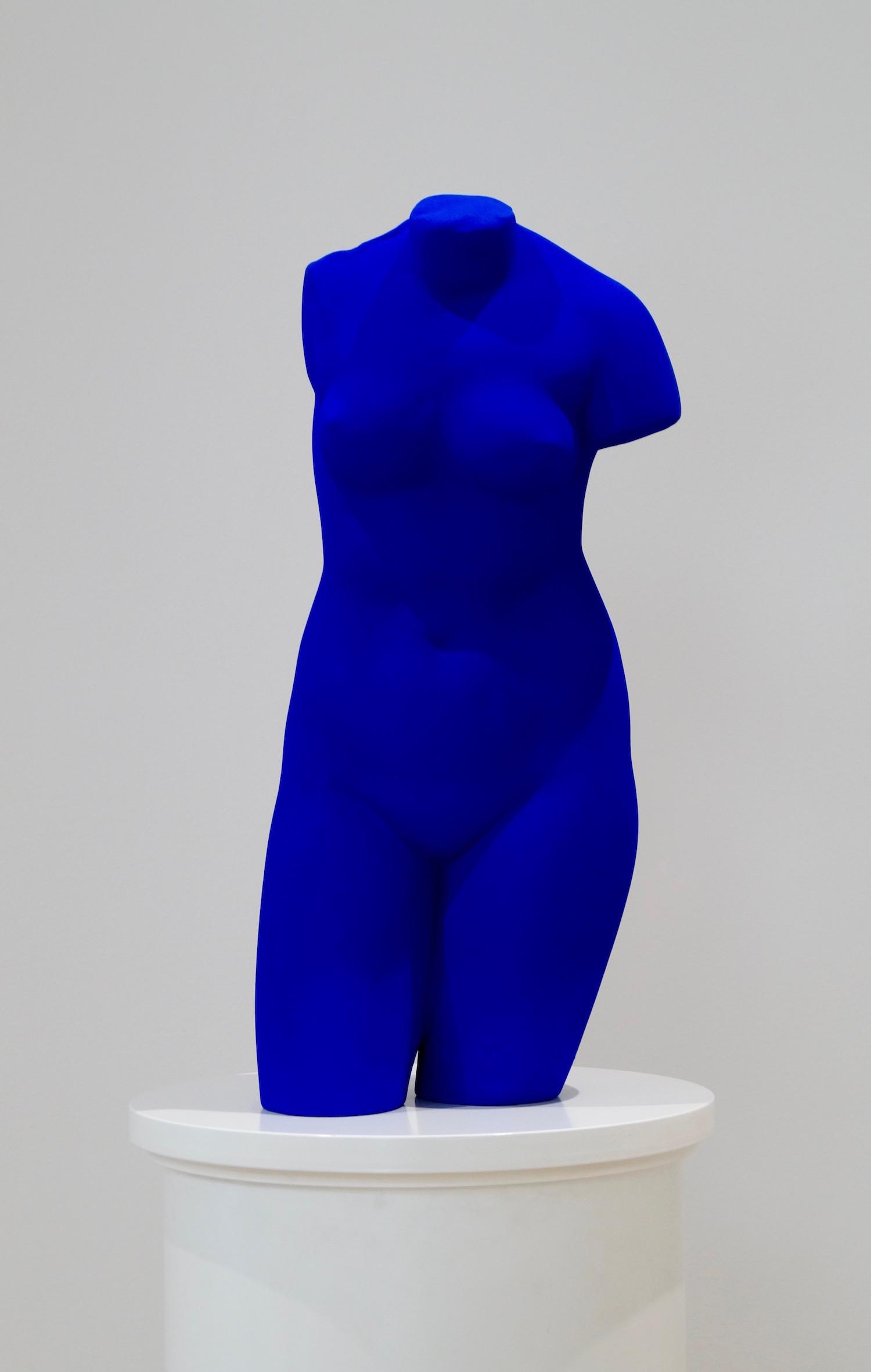 Yves Klein,  Venus Bleue (La Vénus d'Alexandrie)  1962/82