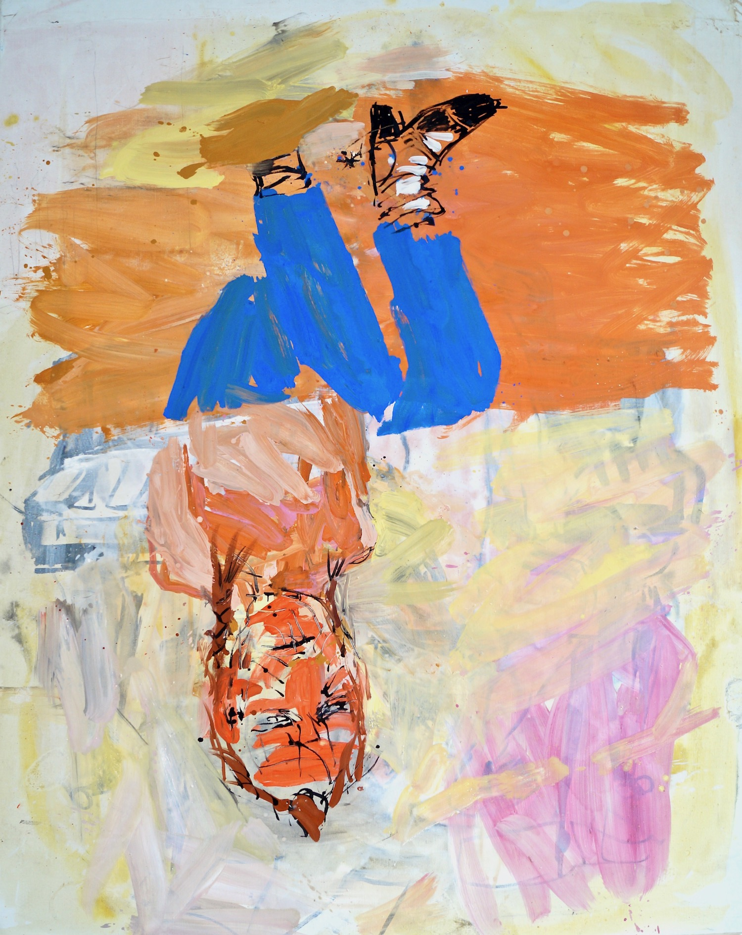 Georg Baselitz Victory Day, 31.VII.03 oil on canvas 208 x 166 cm | 82 x 65 1/3 in GB/M 2