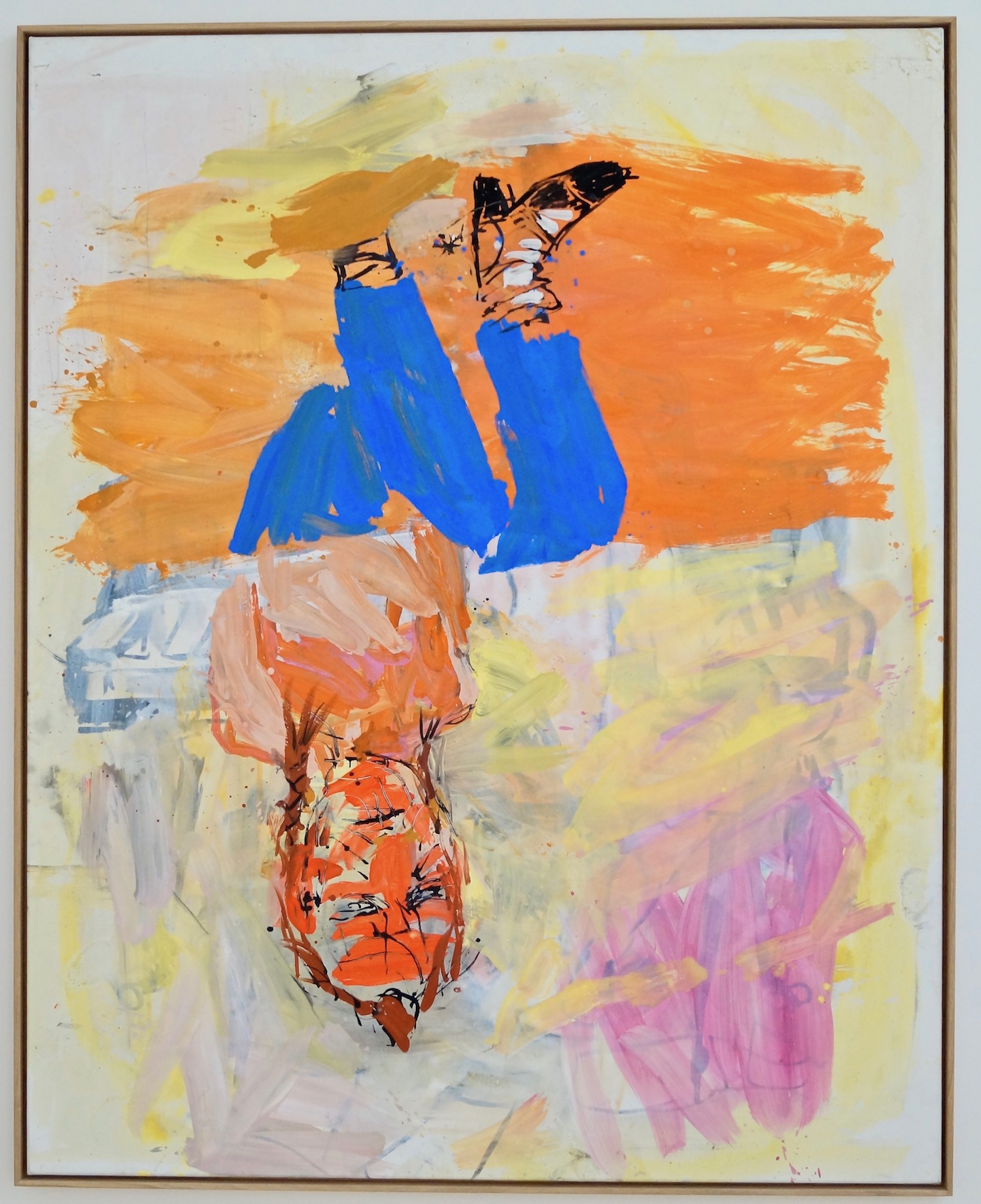 Georg Baselitz Victory Day, 31.VII.03 oil on canvas 208 x 166 cm | 82 x 65 1/3 in GB/M 2   inquire