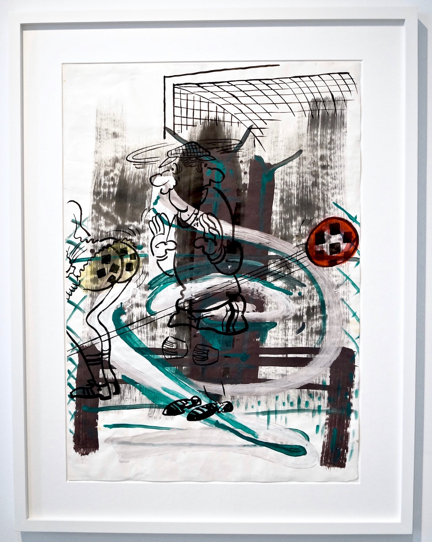 Sigmar Polke untitled, 1983 water colour, gouache and ink on paper 99 x 70.5 cm | 39 x 27 3/4 in SP/P 12