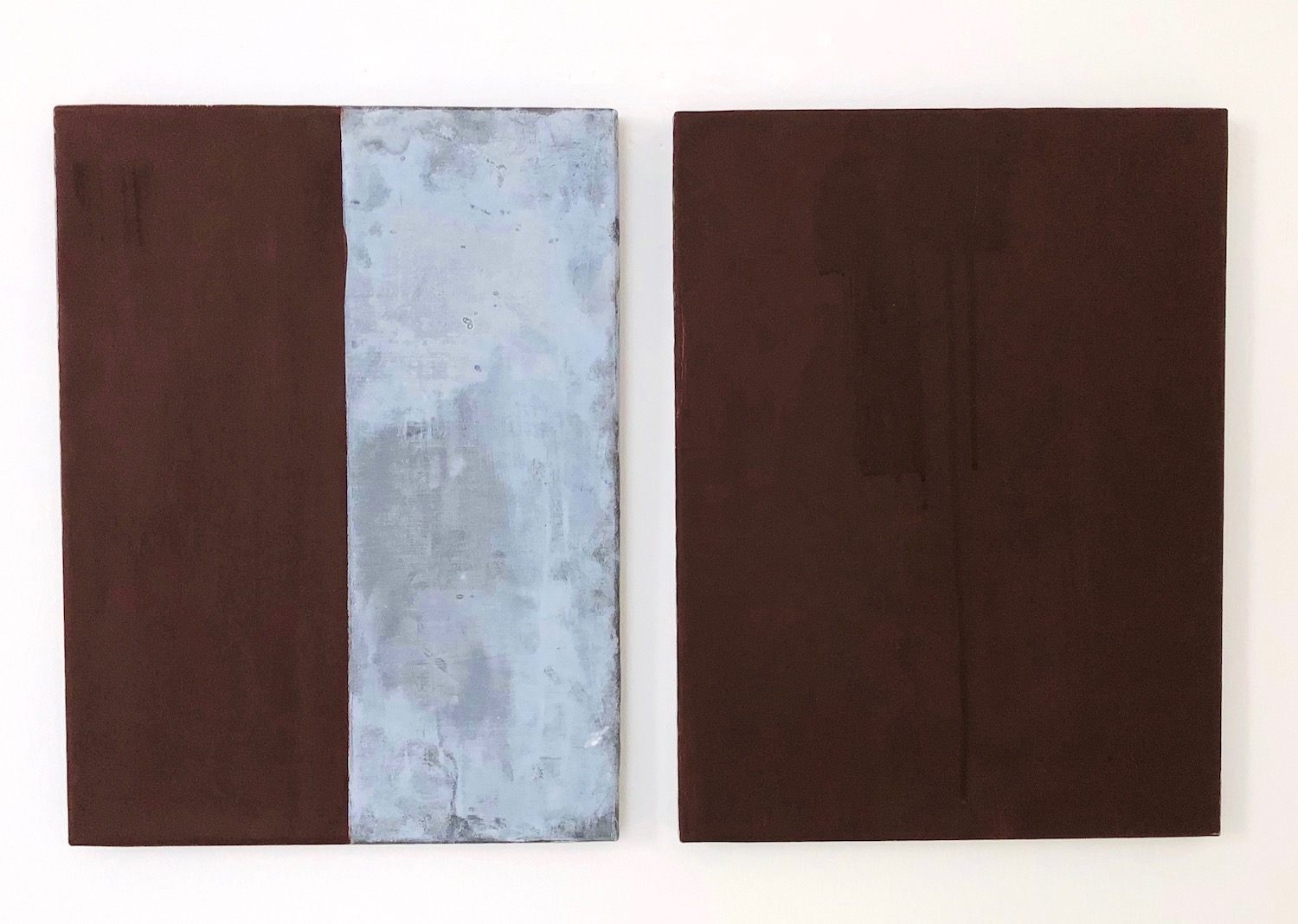 Günther Förg untitled, 1999 acrylic auf lead on wood ech 40 x 30 cm | 15 3/4 x 11 3/4 in each number 8 from 10 unique pieces. GF/M 9