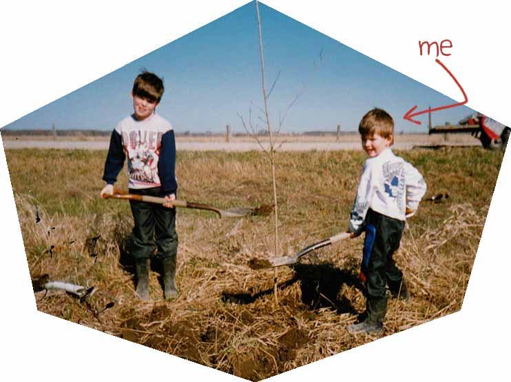 Tree-planting-Minesing-Ontario