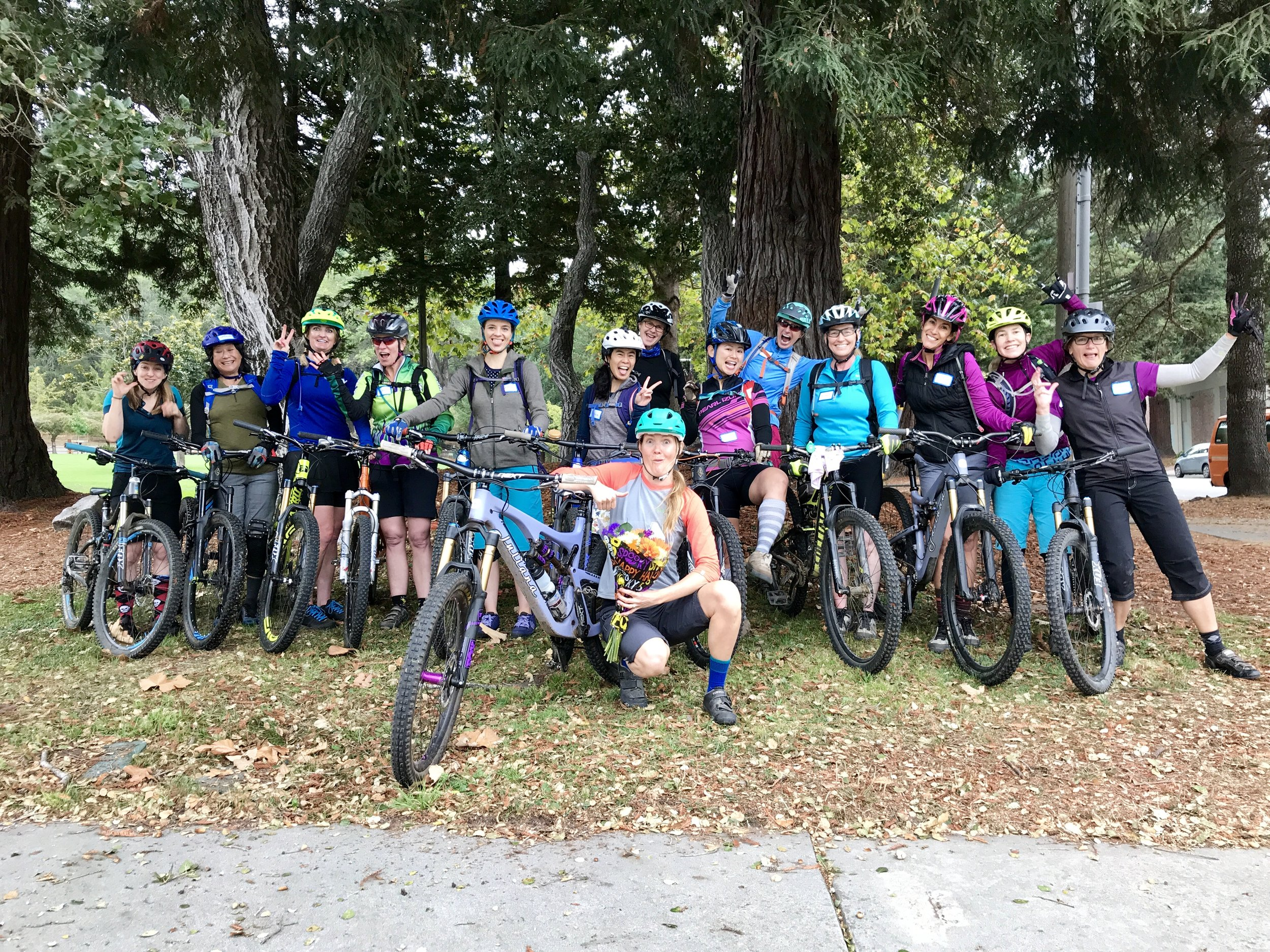 Girls Rock Guide Bike Skills Session with Betty Gilbert