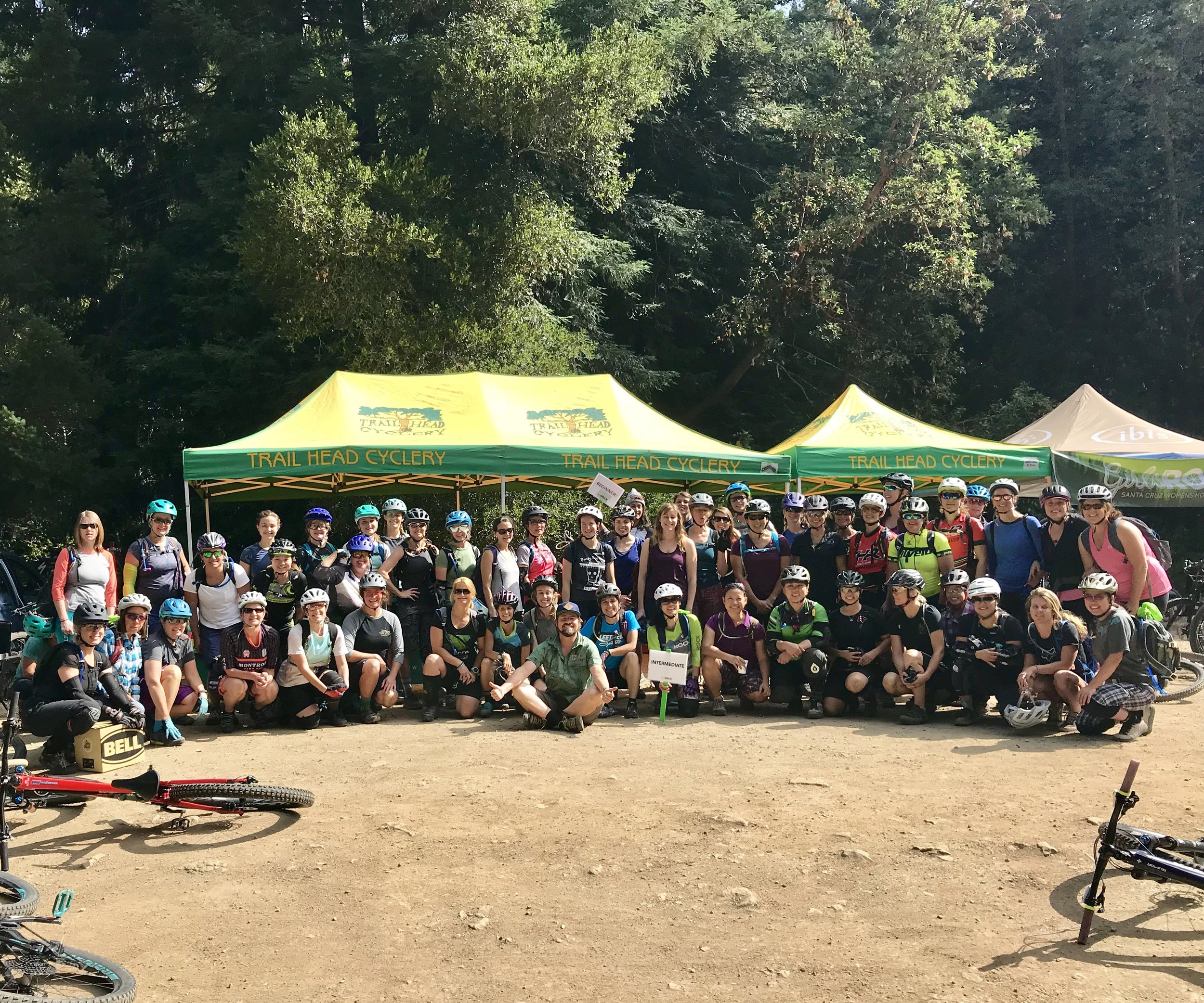 July ride with Trail Head Cyclery @ Demo - July 21