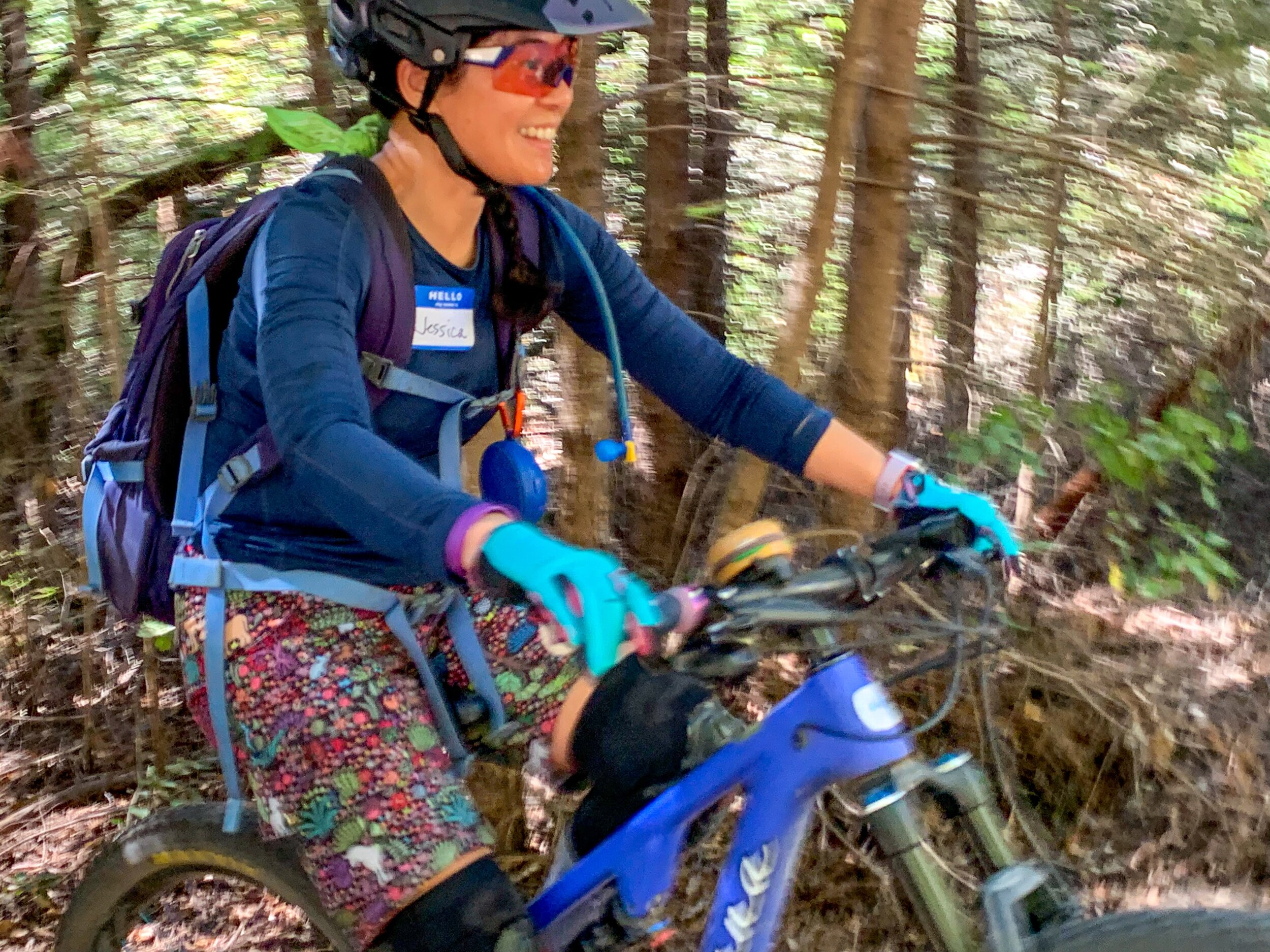 Our lovely guide Jessica Tseng took Intermediate riders on a cool woodland tour. See all the great photos:  https://www.girlsrock-mtb.com/september-8-2019-spokesman