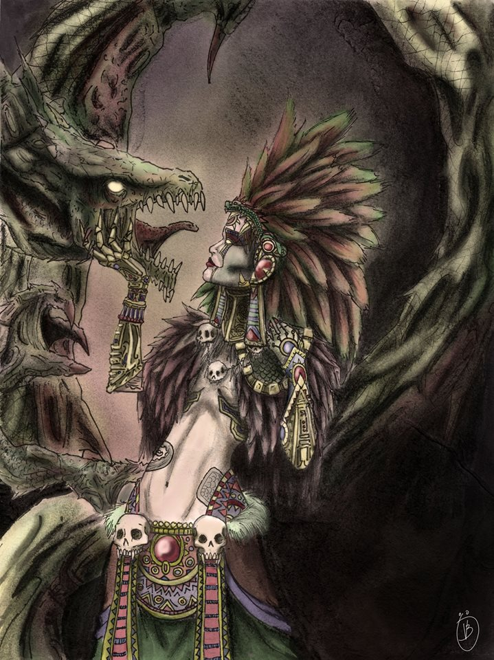 Tonanzin and her Pet