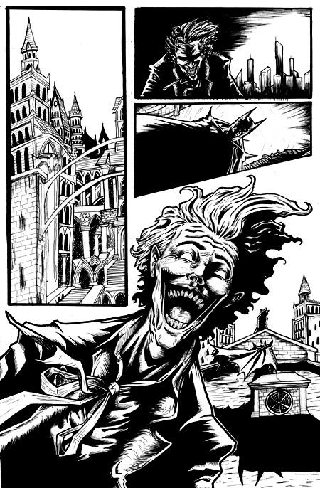 Batman Sequential art page 1