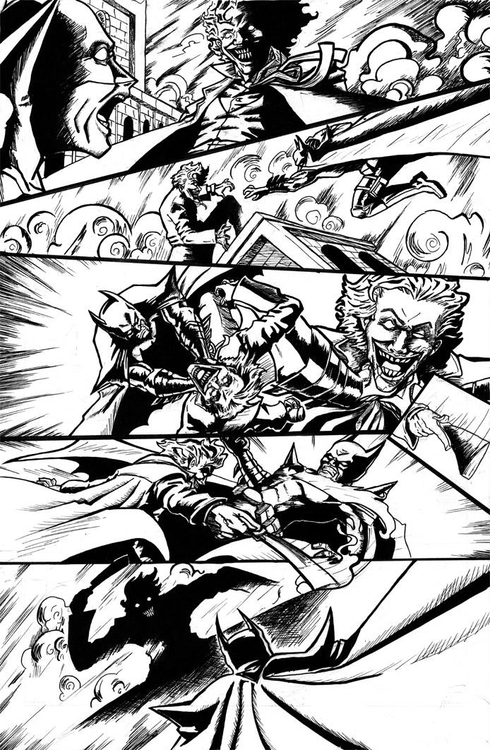 Batman Sequential art page 3