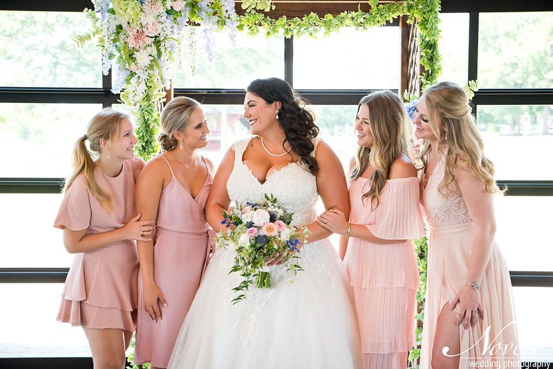 noveli photography bridal hair by brianna puckett bridesmaid hair by megan grubbs + brianna puckett airbrush tan by brianna puckett