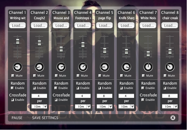 The interface at  Ambient Mixer  is superbly easy to use. You can even make your own mixes!