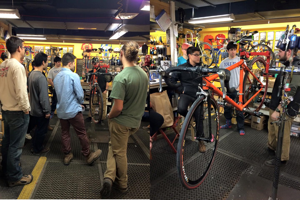 Take advantage of educational seminars on riding, bike maintenance, and nutrition by Devil's Gear Bike Shop.
