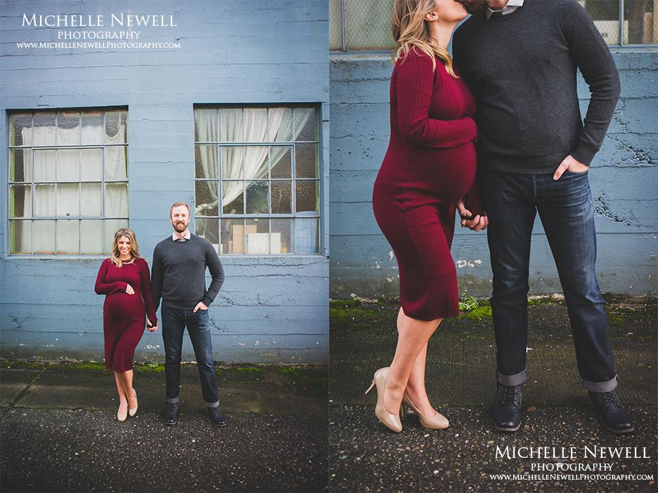 Pacific Northwest Seattle Maternity Photographer
