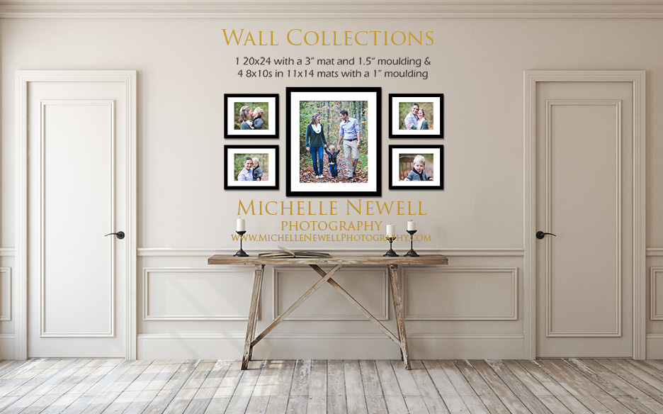 Wall Display by Michelle Newell Photography