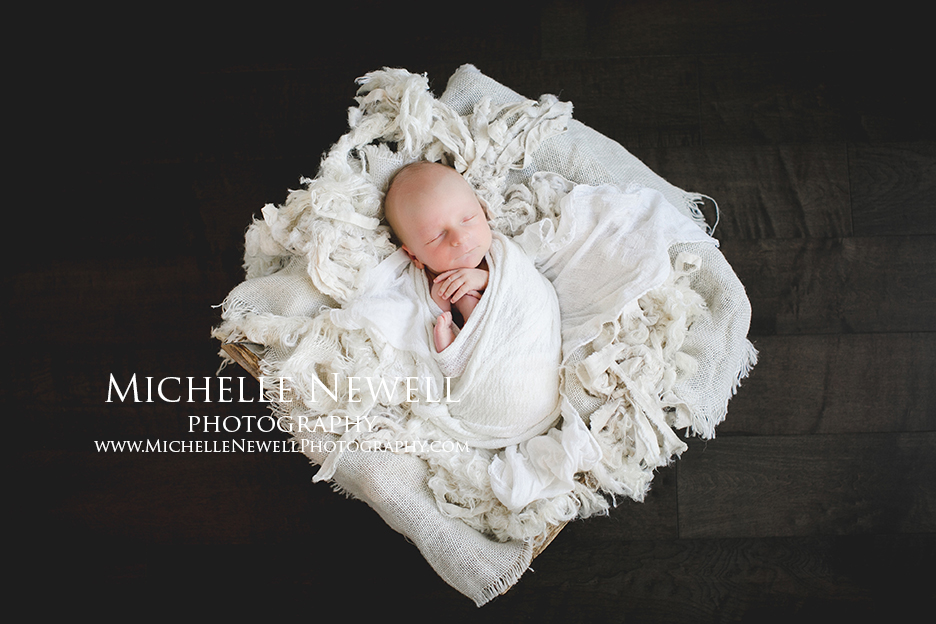 Pacific Northwest Newborn Photography by Michelle Newell
