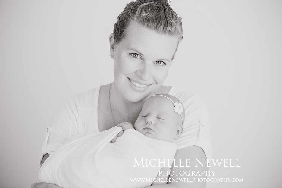 Seattle Newborn Portrait Photography by Michelle Newell