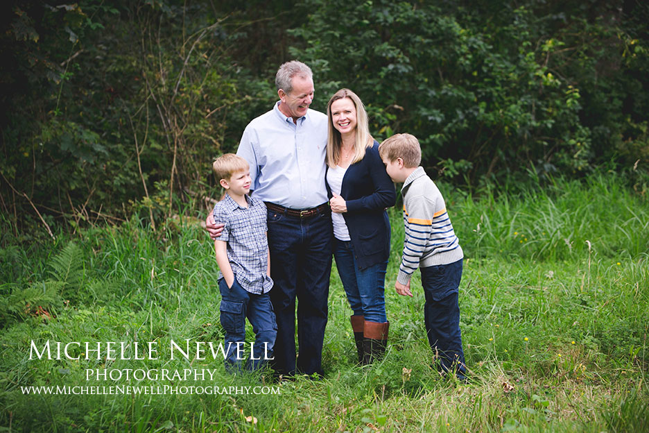 Snohomish WA Family Portrait Photography by Michelle Newell