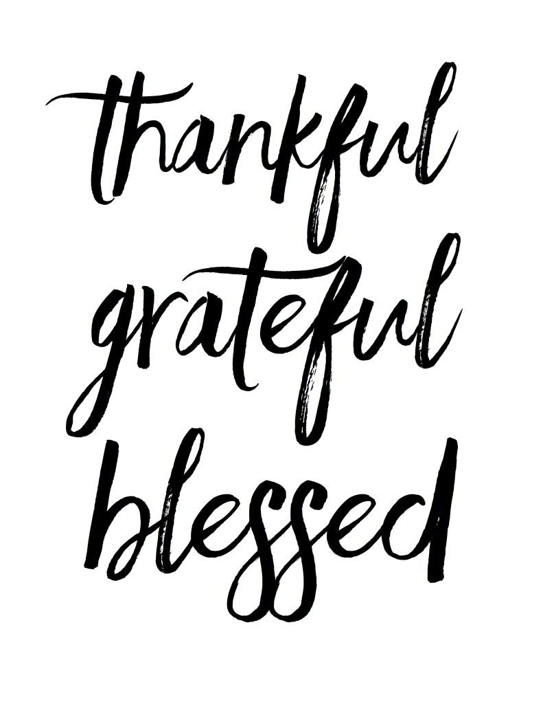 Free Thanksgiving Printable by Raquel Dorsey