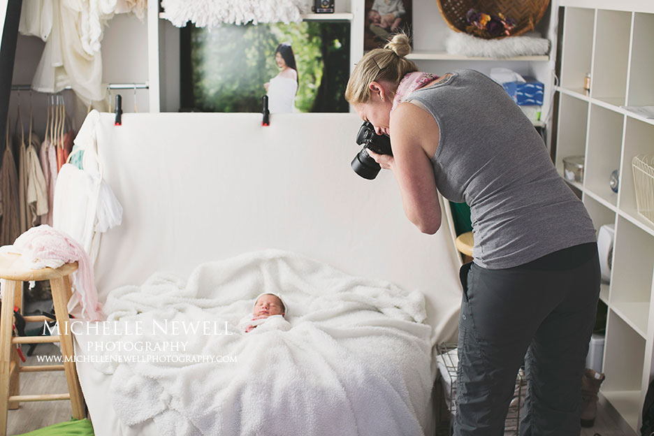 1:1 Newborn Photography Mentoring by Michelle Newell
