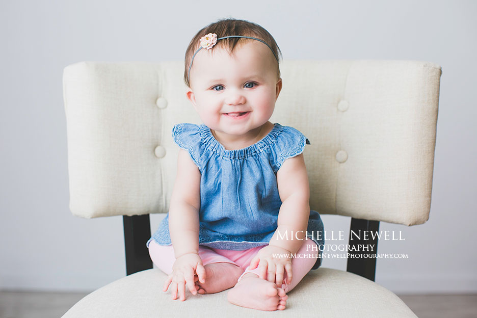 Snohomish WA Baby Portraits by Michelle Newell Photography