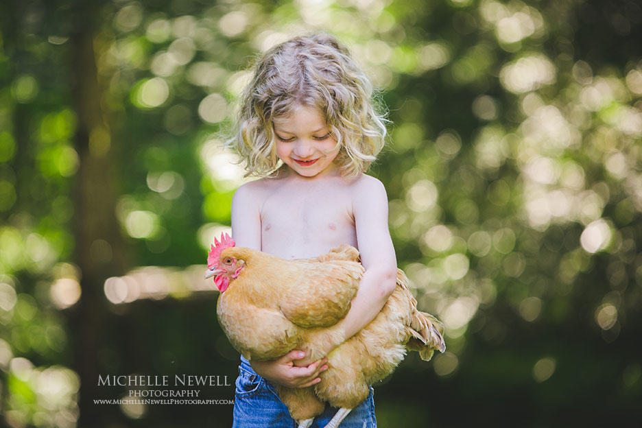 Summer Portraits by Michelle Newell Photography