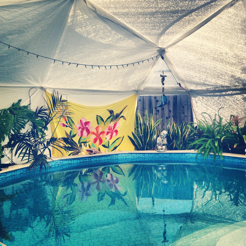The Loving Aquatic Massage pool in Davis, CA.
