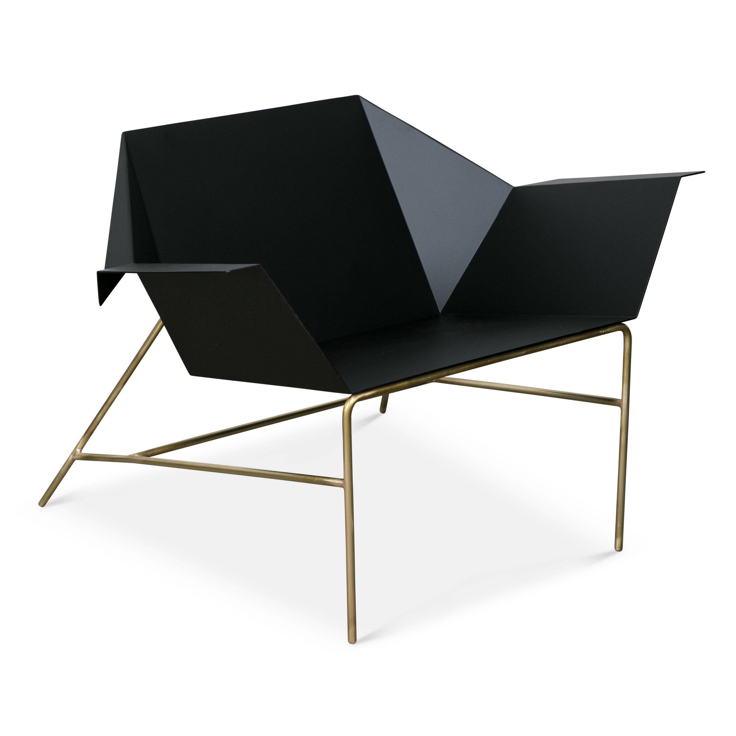 red shank lounge chair brass legs.jpg