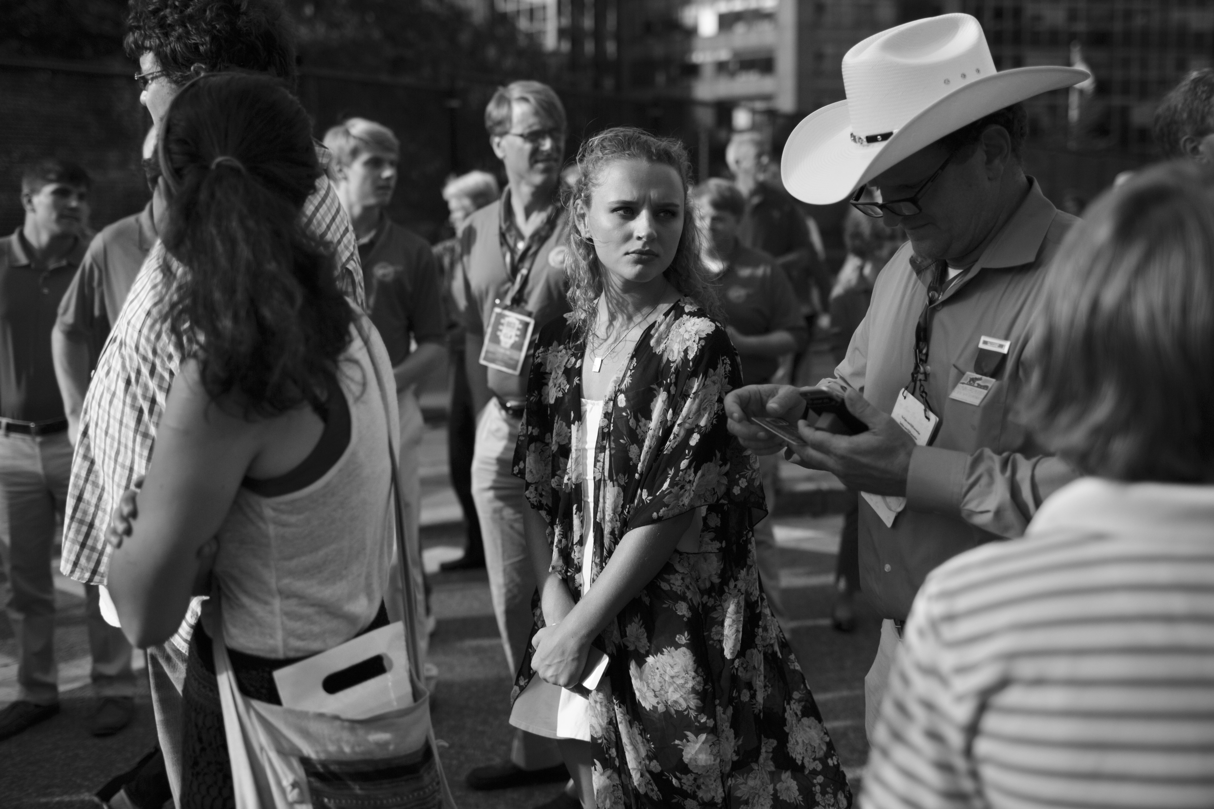 17 July 2016 - Cleveland, Ohio - Guests are attending a Welcome Party one day ahead of the Republican National Convention North Coast Harbor.Photo: Cédric von Niederhäusern