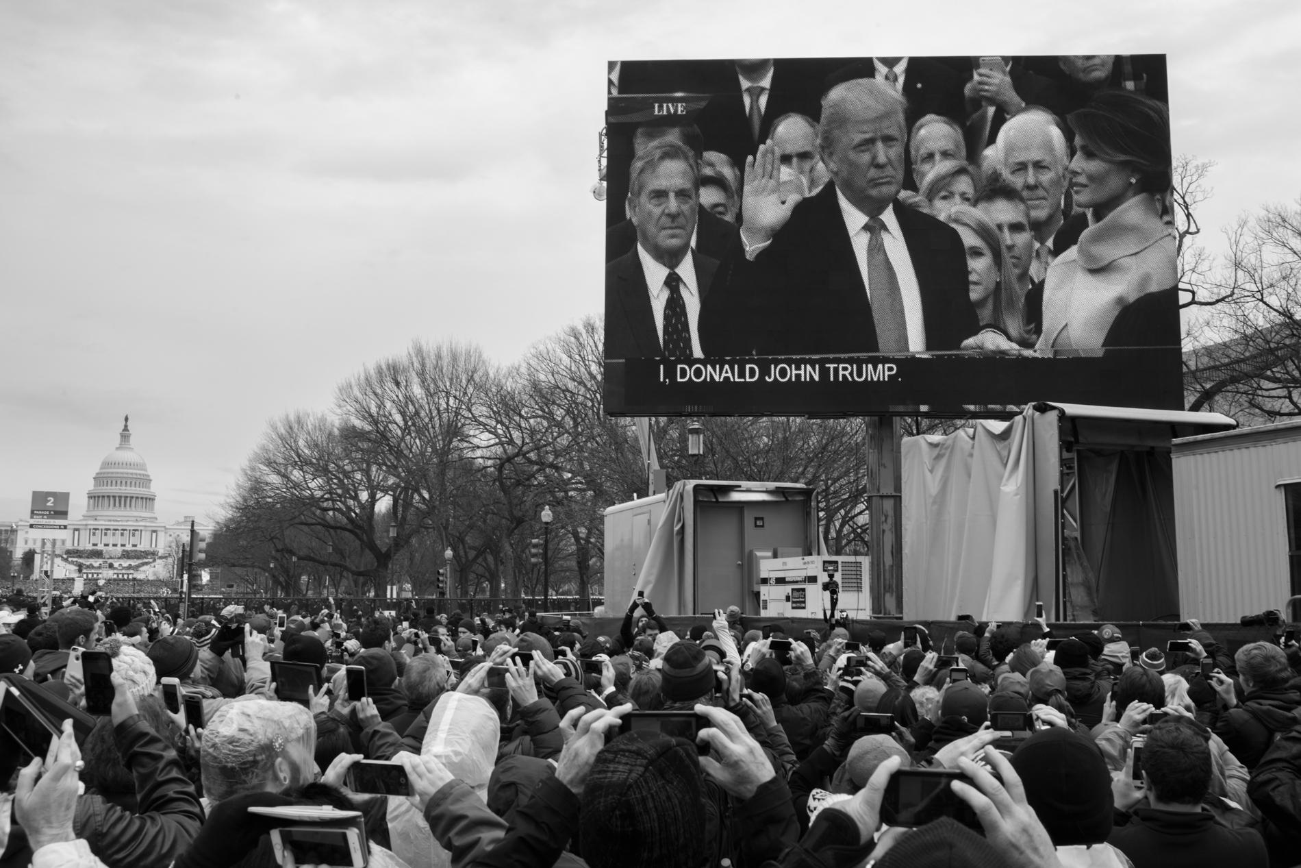 20 Jan 2017 - Washington D.C. - InaugurationCredit: Cédric von Niederhäusern
