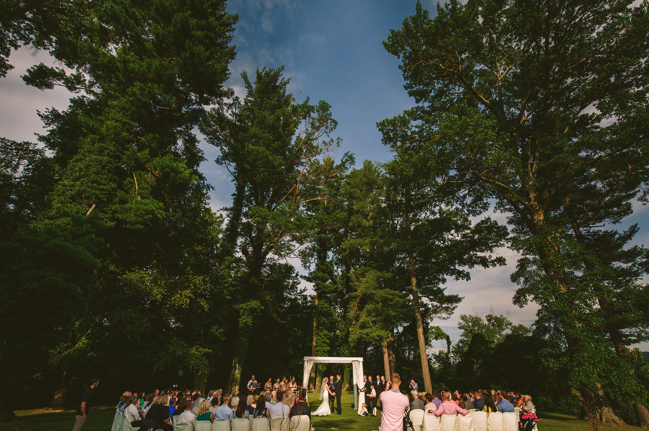Breelyn Craig Wedding Ceremony outdoor