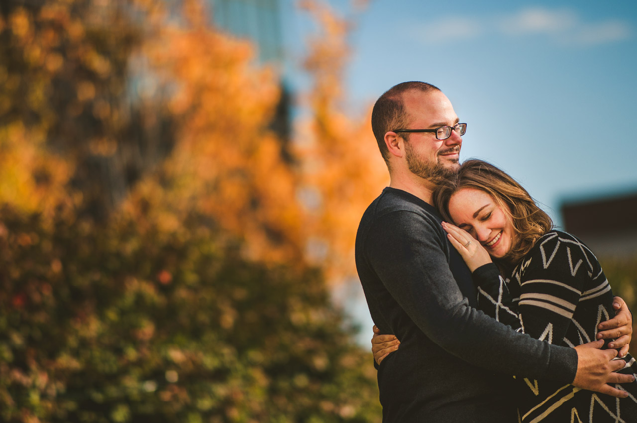Engaged-Columbus-Ohio-Lannette-Jerry-Fall