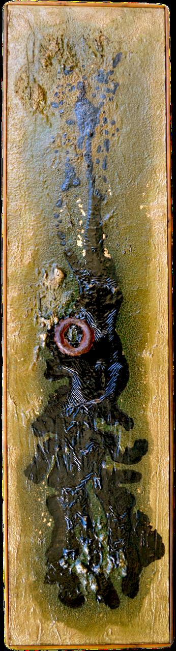 """COLONEL SALAMANDER • (12"""" X 48"""")"""