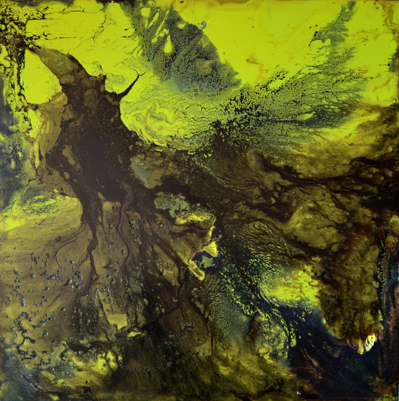 "FERROSILICON FOREST • (36"" X 36"")"