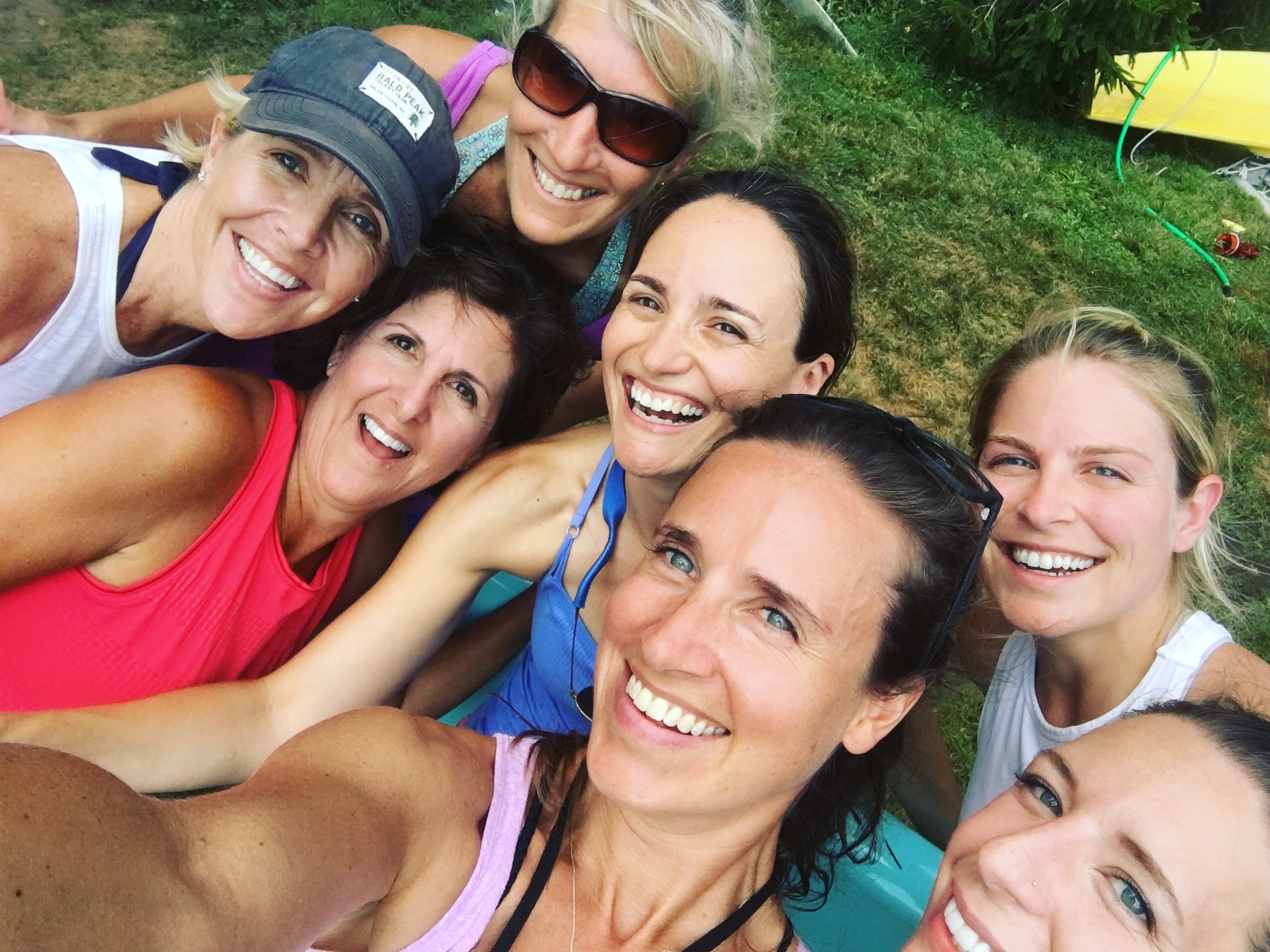 Thumbsup Yoga SUP Yoga Teacher Training - Darien YMCA - July 2016
