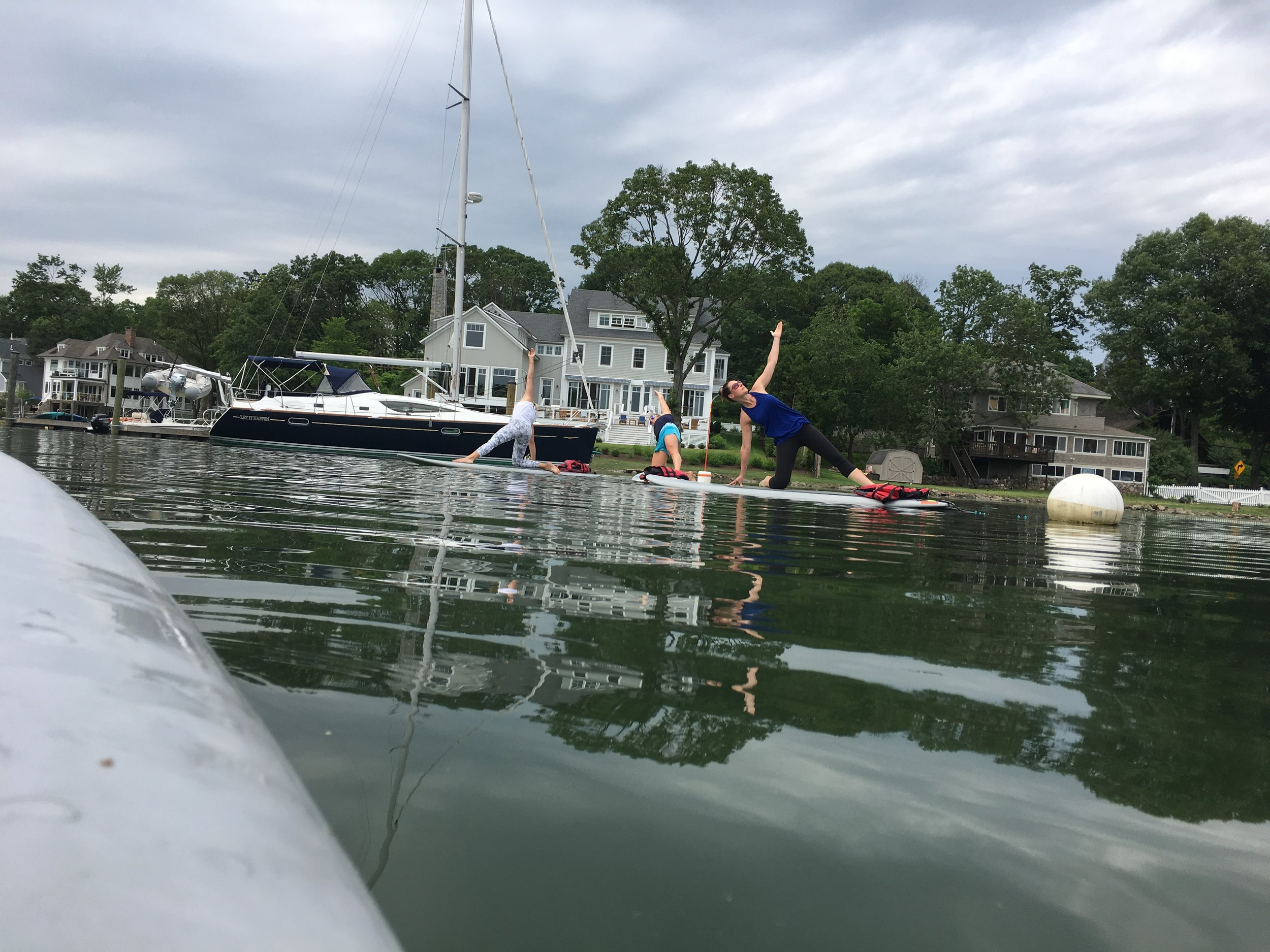 sup yoga rowayton