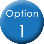 Click  to access option 1