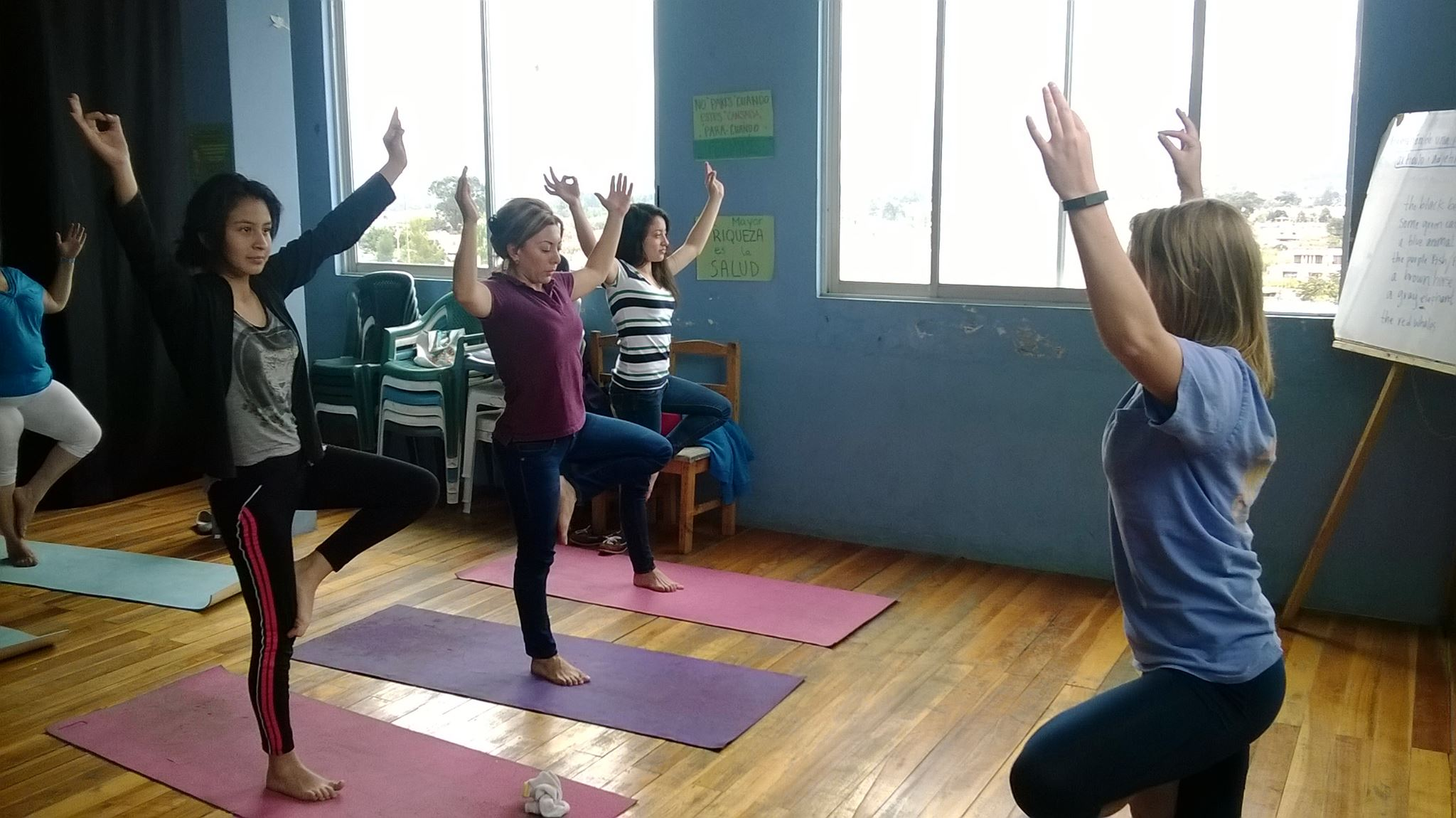 Saturday Yoga class at the Manna Centro.jpg