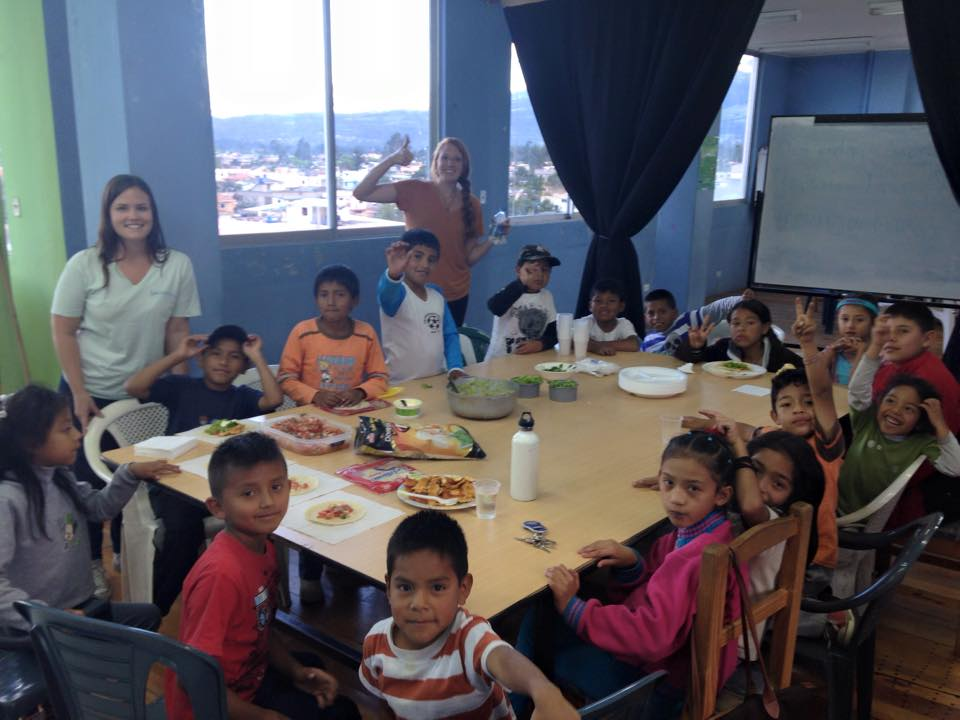 Children Cooking and Nutrition Ecuador Big Group Great.jpg