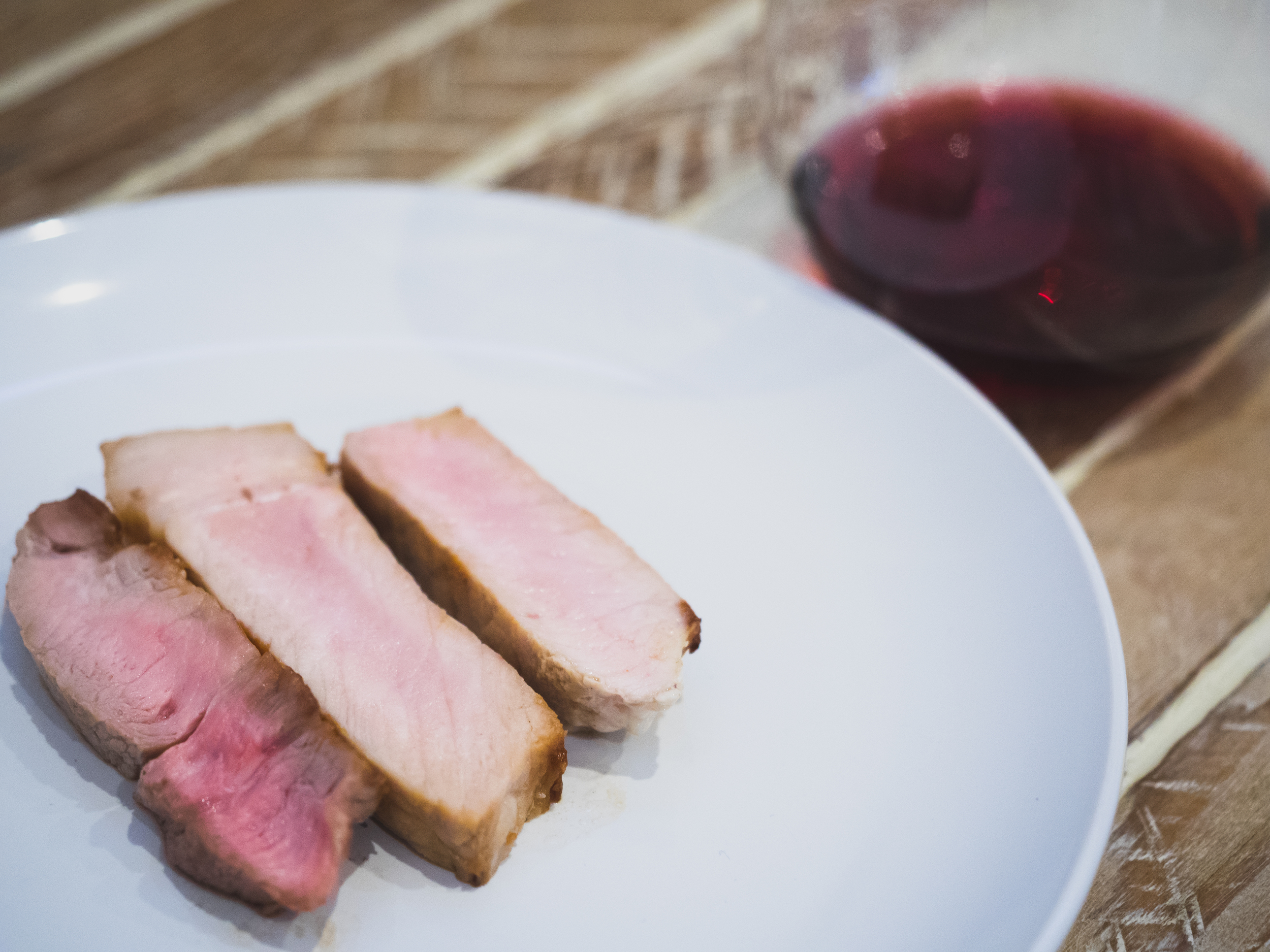 swine and wine at IDT  — reservation for two