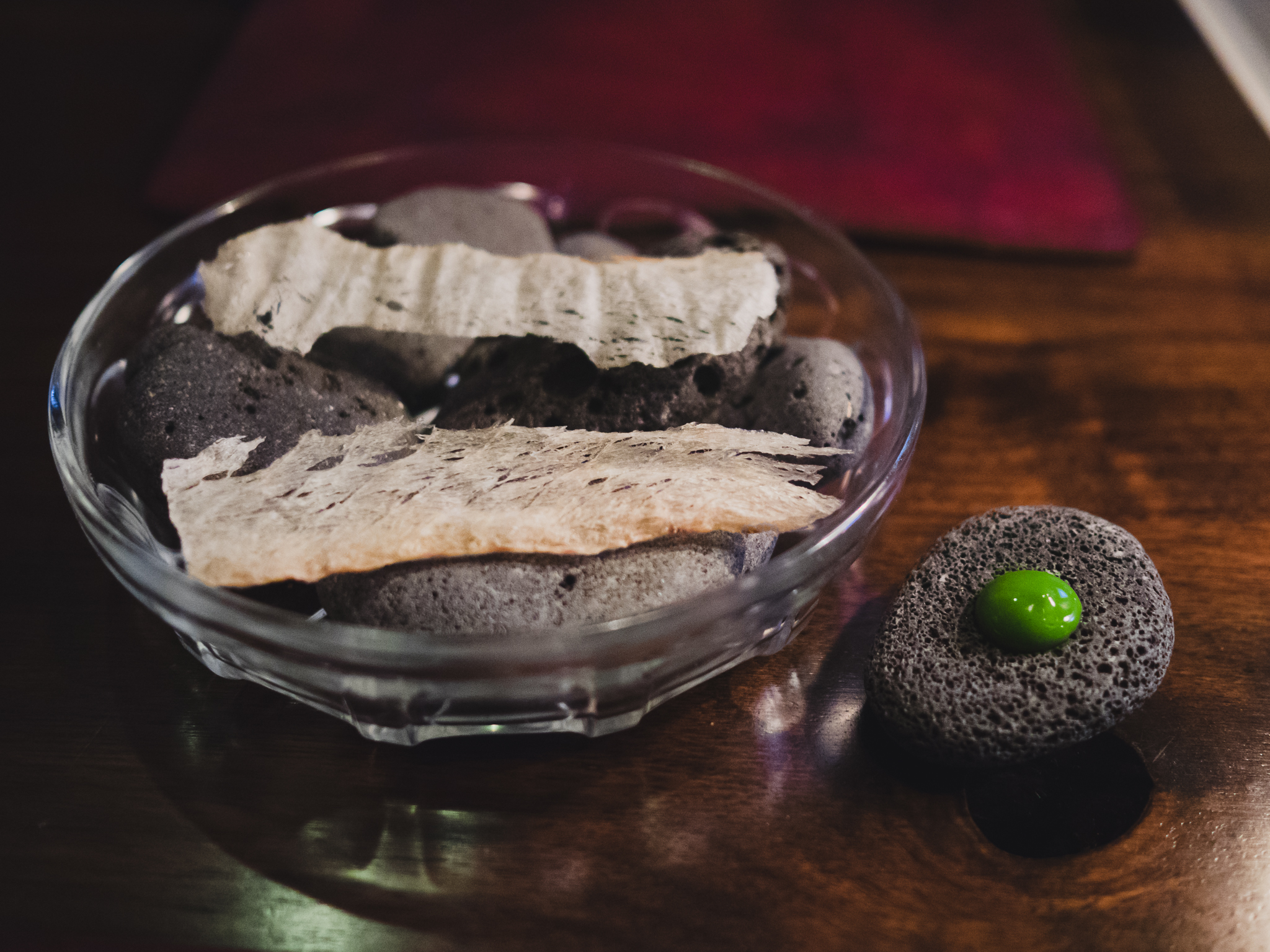 snack 03. crispy bacalao, dill.