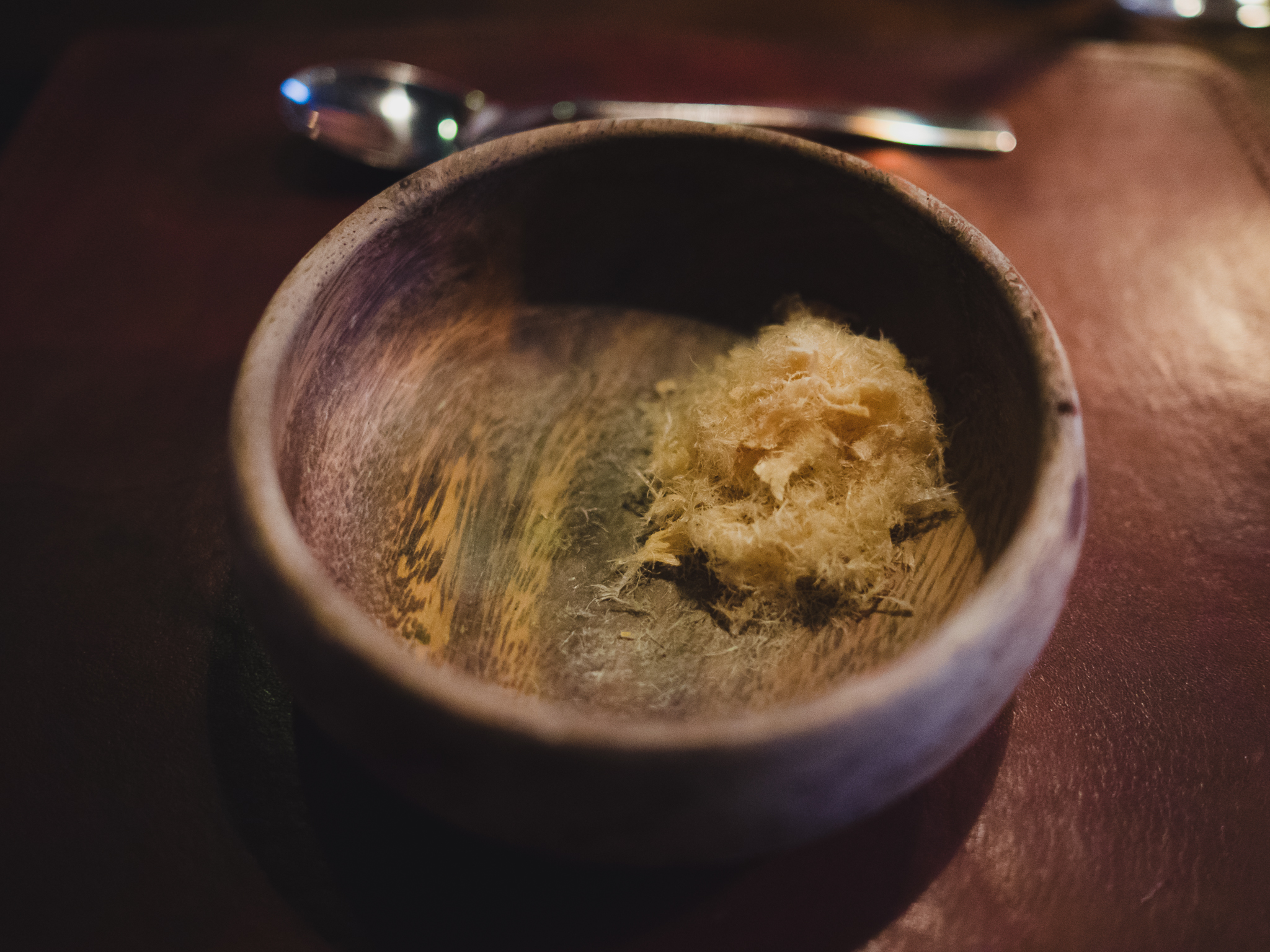 snack 06. dried catfish-burnt butter.