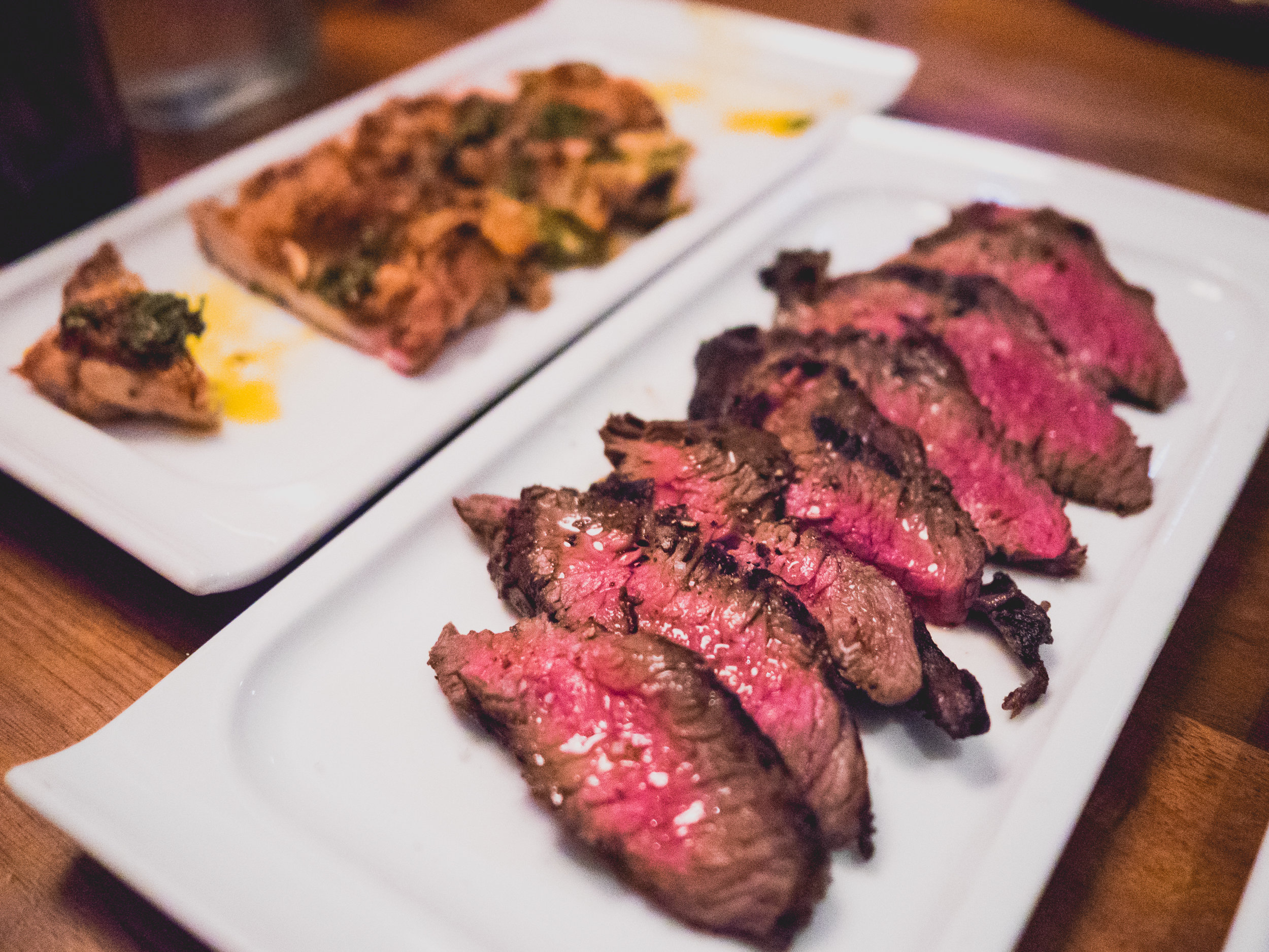 prime skirt steak .