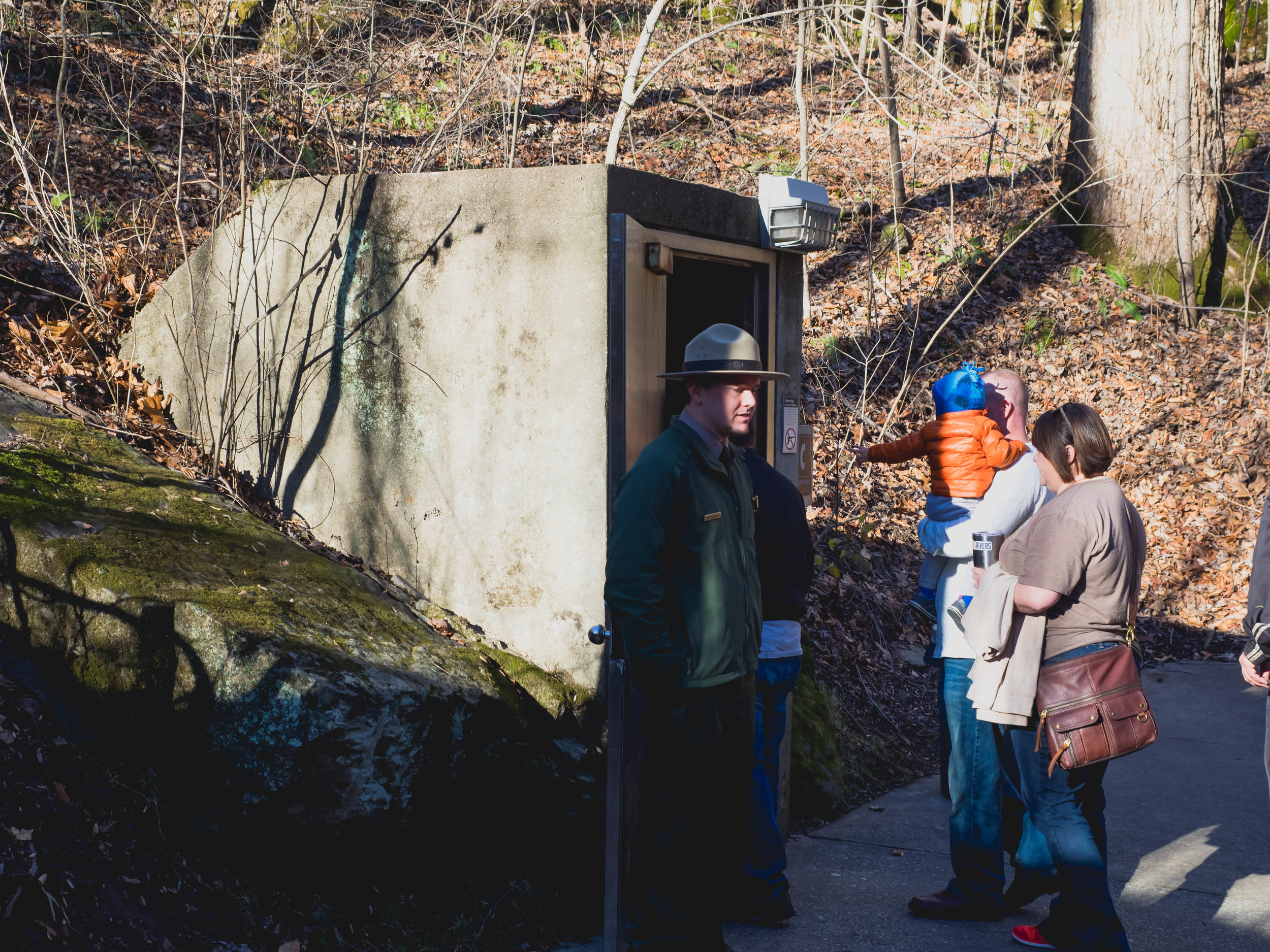 D&D Tour entrance at Mammoth Cave.