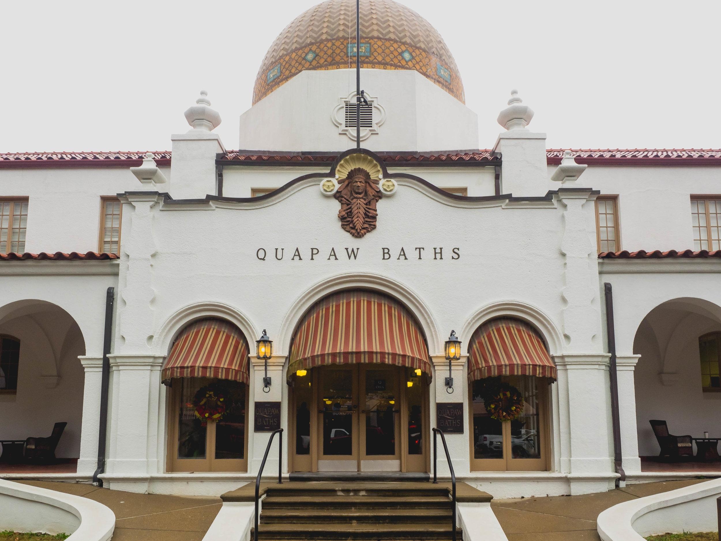 quapaw baths.