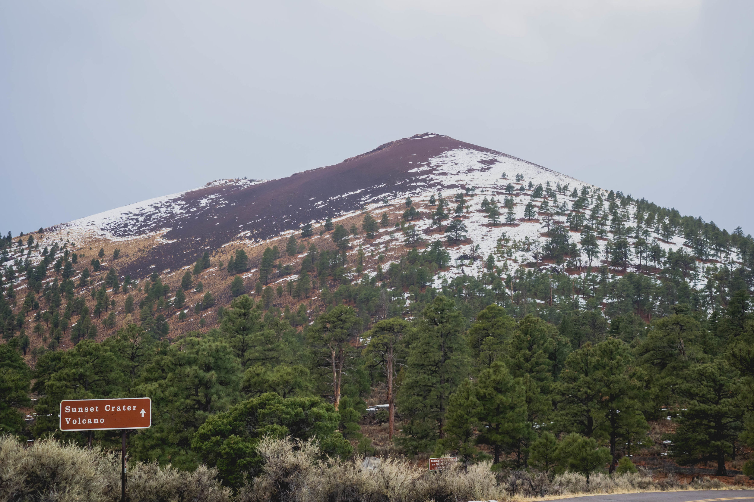 sunset crater volcano.