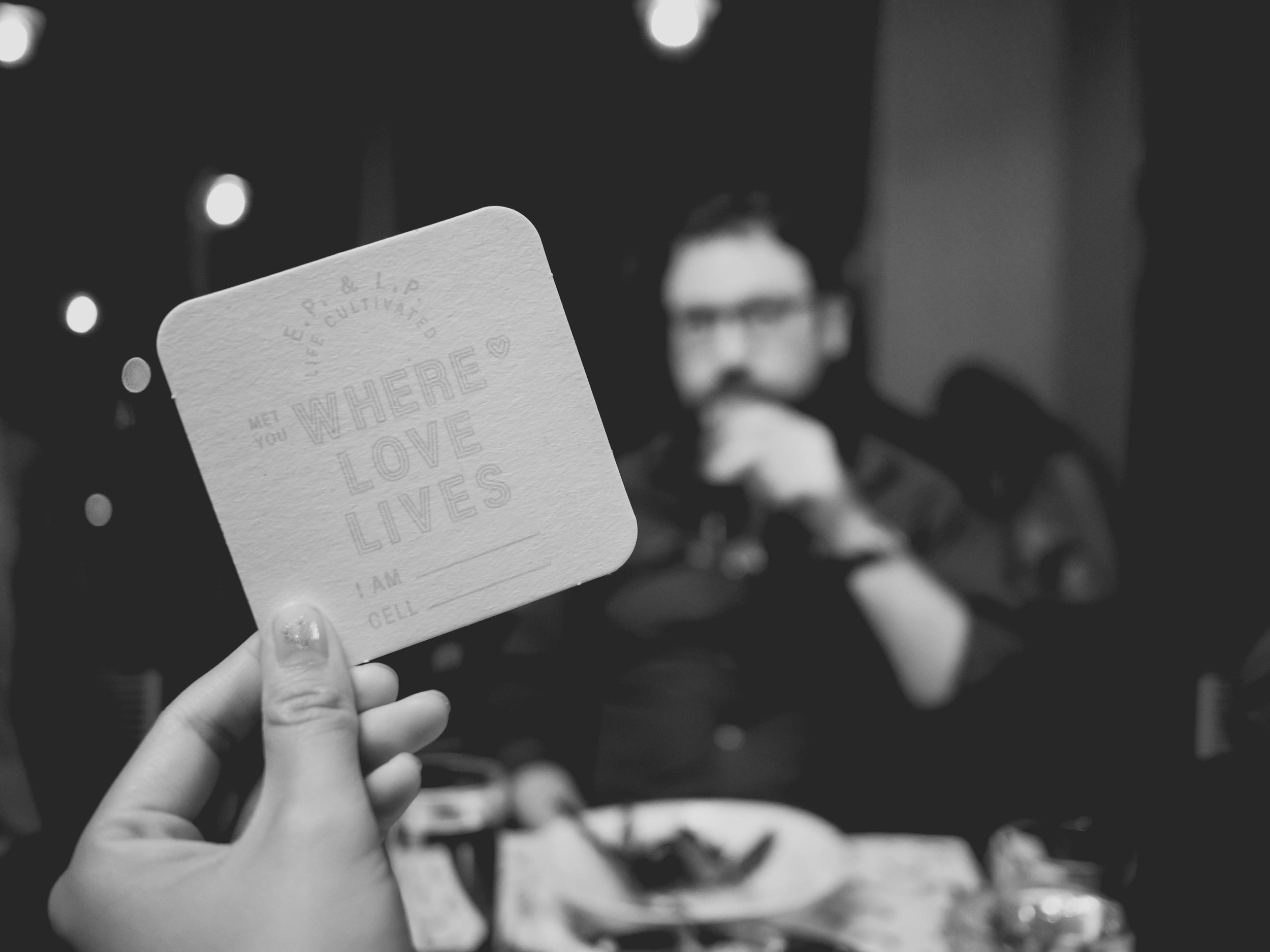 where love lives  coaster.