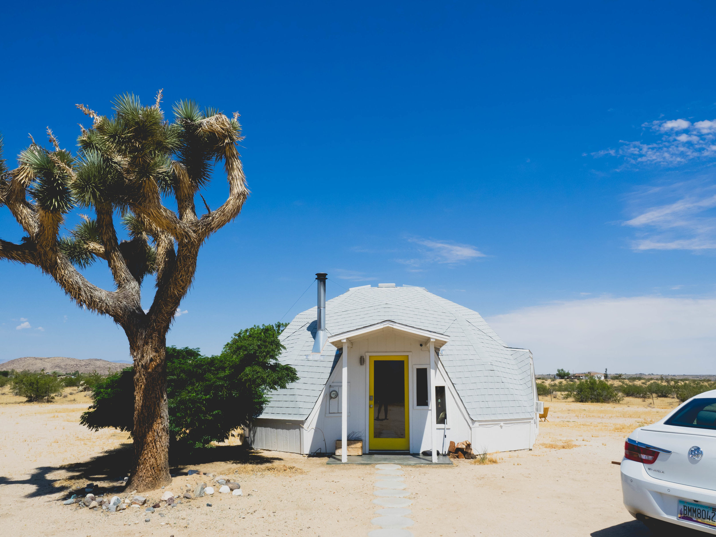dome in the desert.
