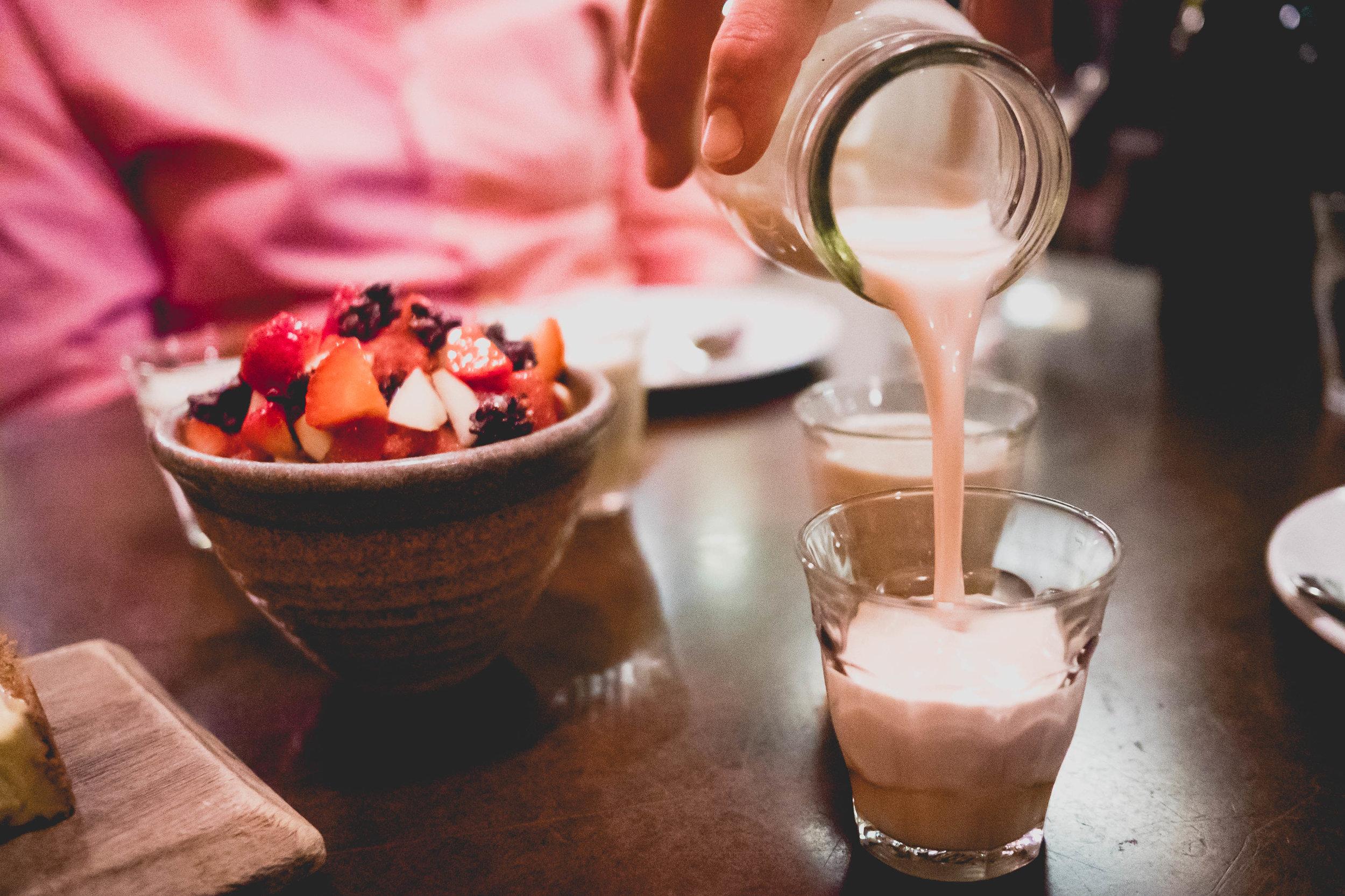 'world peace' peanut muscovado milk .