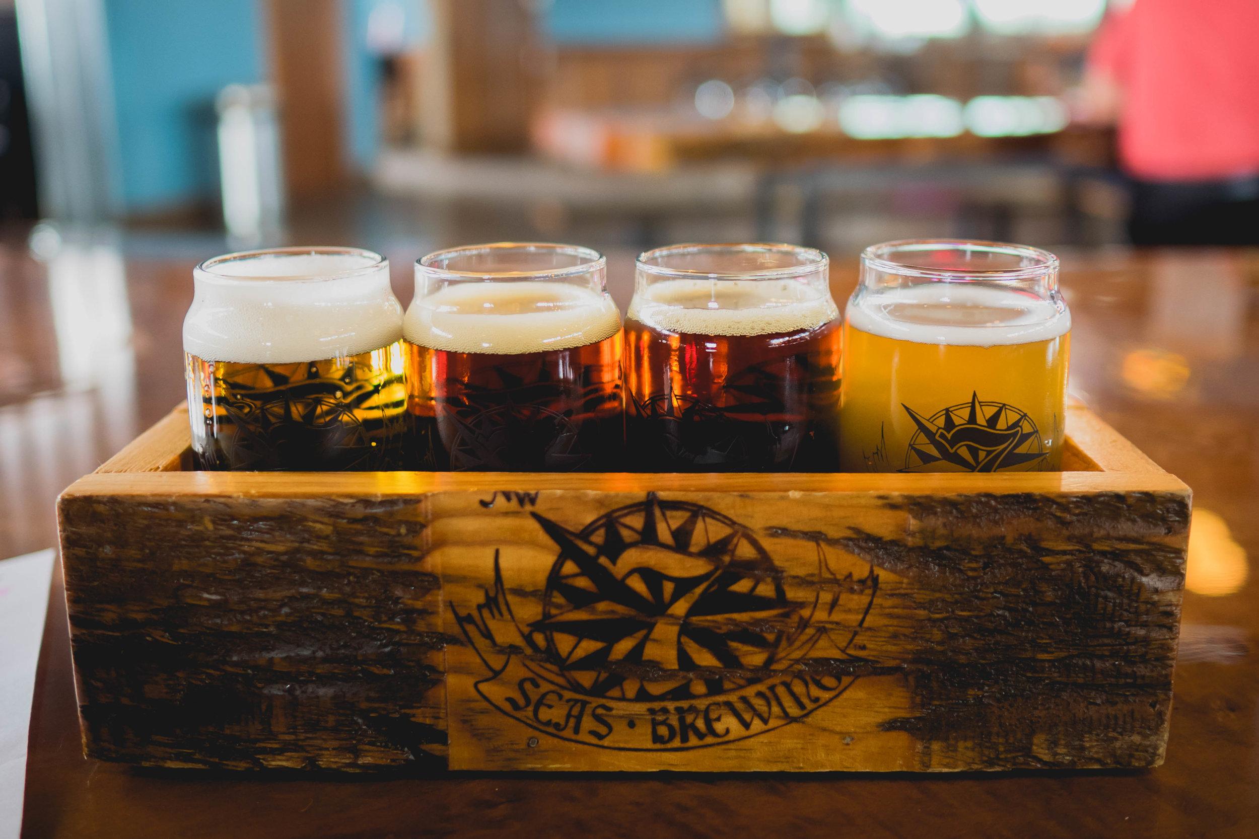 beer flight !